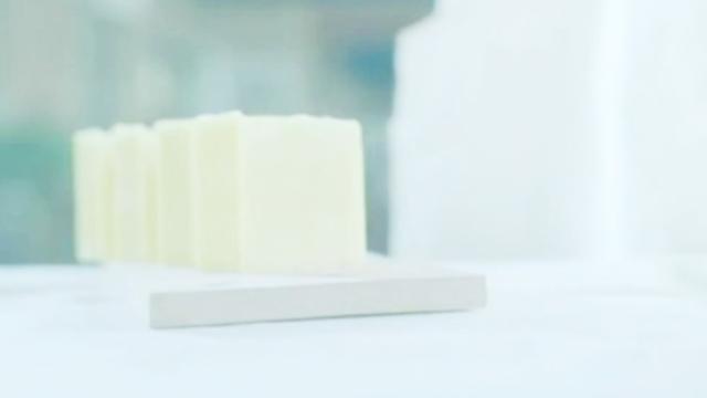 吱嘎门开了:纯天然绿色手工皂