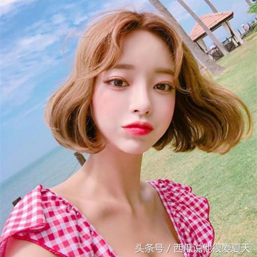 韩式短发,简易卷发教程  听说韩国妹妹都是这么打... -bilibili