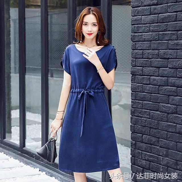 桑蚕丝连衣裙+套装,专为40—58岁精致妈妈而设计