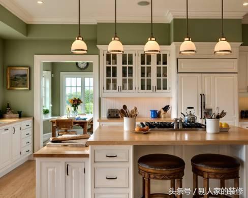 小户型开放式厨房装修效果图大全2016图片 风格多变的开放式...
