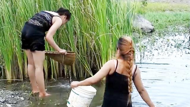 缅甸农村女人生活照