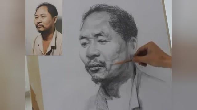 古装人物铅笔画简单版