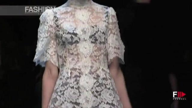 Dolce﹠Gabbana The Best of 2013/14个性大胆亮点艺术秀1