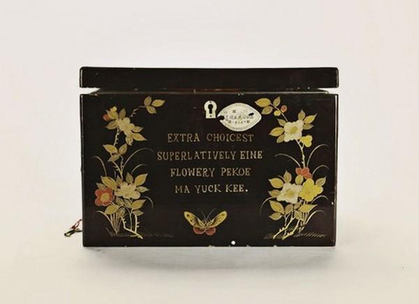 茶叶盒包装展开图