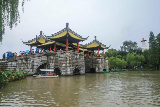 扬州瘦西湖景区浏览图