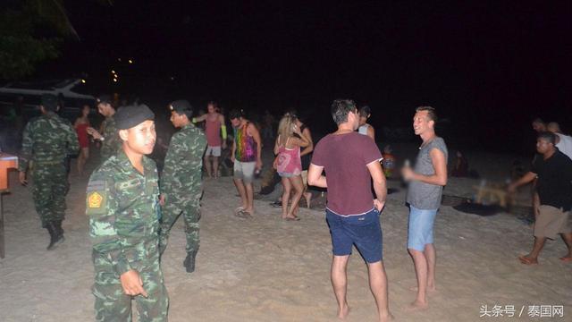 泰国满月派对的视频