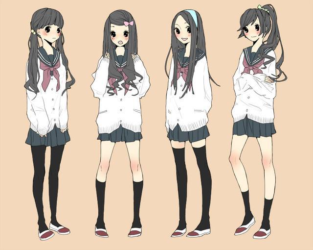 日本女子校服一览,你喜欢哪套呢?