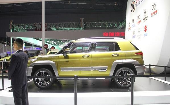 又像极光又像路虎:北汽全新SUV BJ20预计售价8万太感人