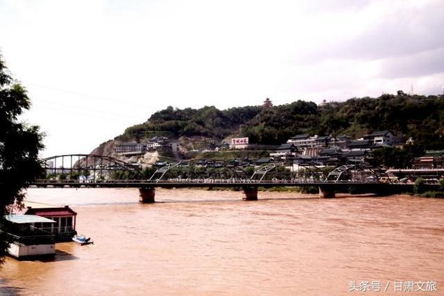 兰州中山桥图片
