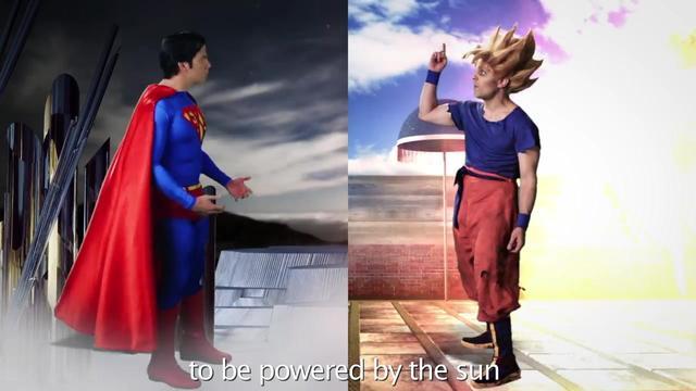 超人vs悟空 你没见过的全新版本