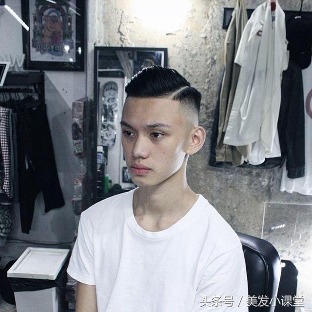 男生侧分发型