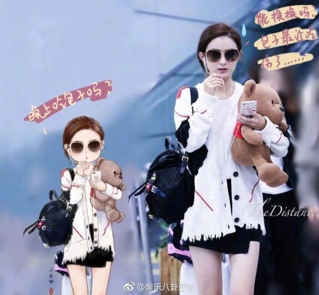 大神画了9个卡通赵丽颖 网友直呼:是不是她女儿?