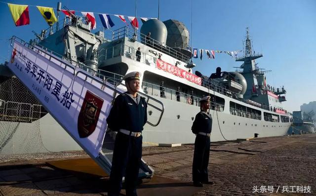 中国海军859号电子侦察舰