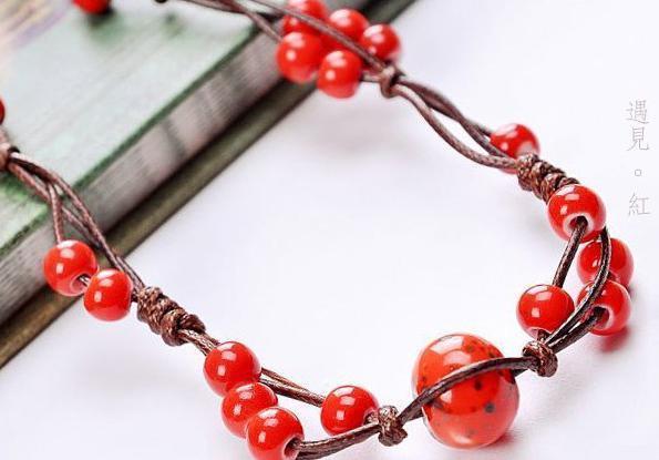 手工制作大全:红绳项链编法图解 细红绳项链编法图解_手机枫网