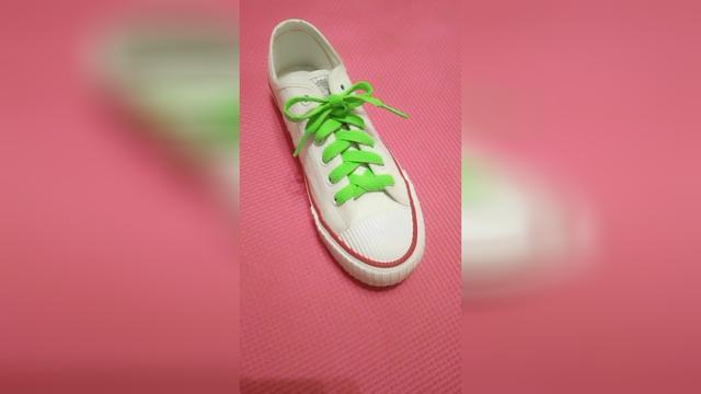 十大网红鞋鞋带系法简单