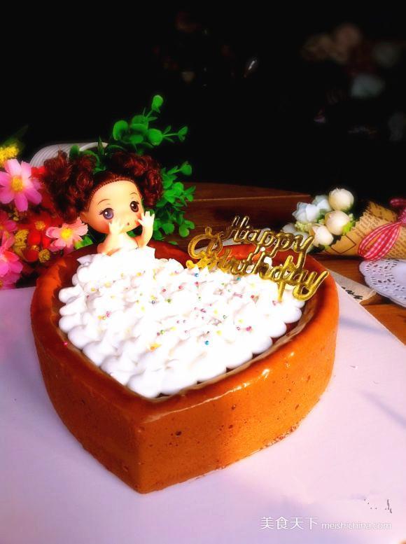 芭比娃娃蛋糕图片