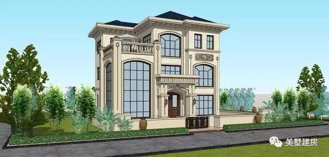 2019美墅建房别墅农村自建房设计施工楼方... _阿里巴巴找货神器