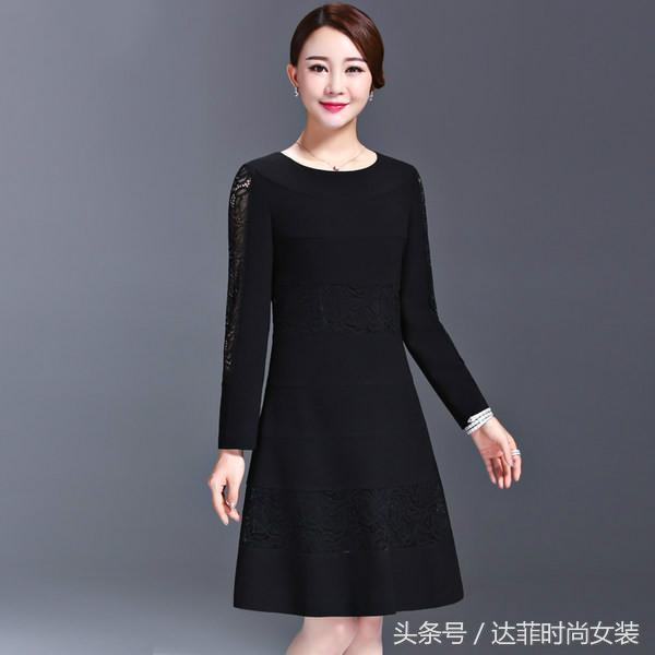 时尚连衣裙,件件精致又洋气,款款高贵又大气