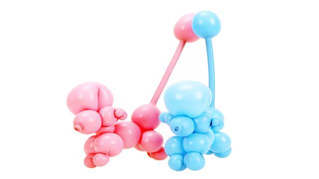 气球造型教程:魔术气球老鼠或者小狗制作视频教程 魔法气球教程