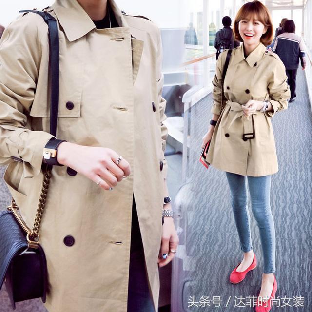 2014春秋新款韩国中长款女士风衣 正品修身显瘦休闲气质外套女装