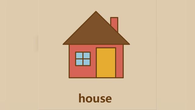 简笔画教程:怎么画小房子-露西学画画