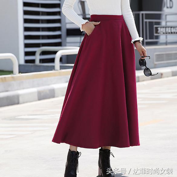 48款针织毛呢半身裙,显高显瘦秋冬必备单品,有没有看上的呢?