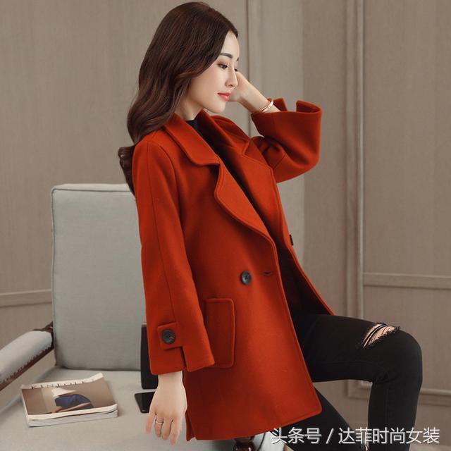 女式寬松風衣