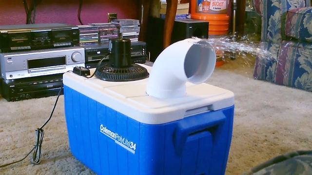教你在家制作DIY迷你小空调,用到的材料居然是如此简单