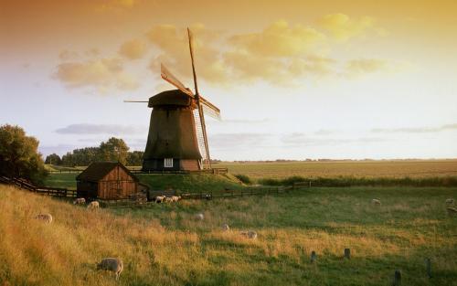 荷兰的风车-科普中国