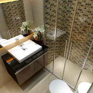 2018流行风格小户型卫生间装修图片 卫生间装修... -信用家装修网