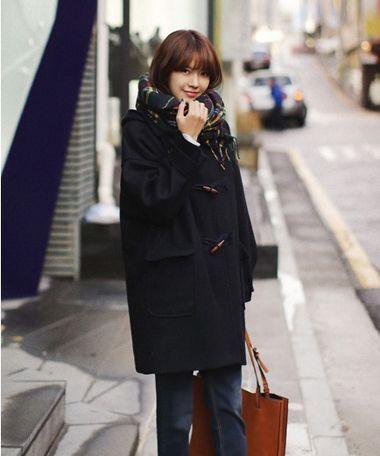 中分短发烫发韩范图片,全是韩国小姐姐大爱款