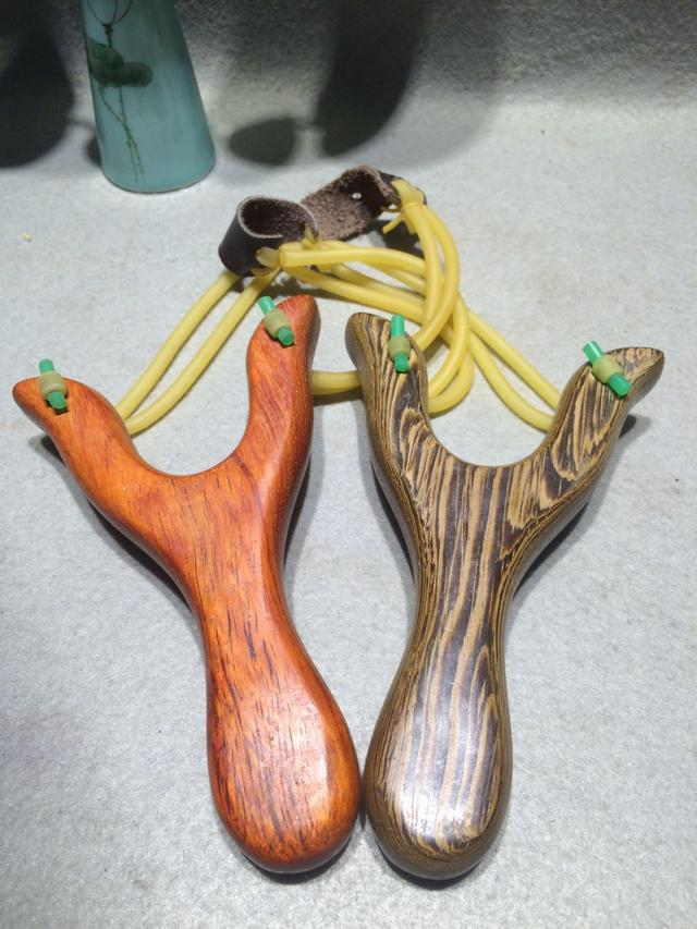 木制扁皮弹弓尺寸图纸