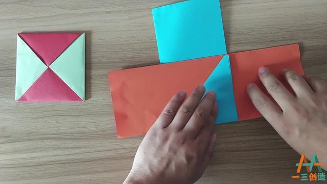 怎么折叠方块小纸包_搜狗指南