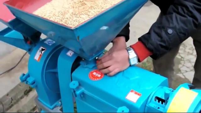 想不到新式简易大米加工机:稻谷剥壳、碾米全部自动化