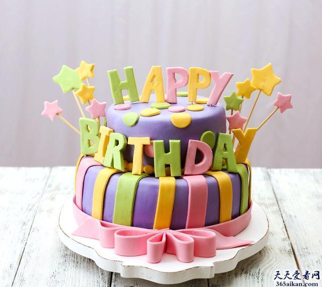 生日蛋糕五顏六色的,非常鮮艷,為什么基本都是用色素堆出來的?