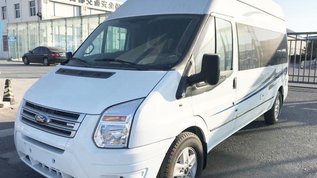 江铃原厂福特商旅版B型房车,蓝牌C照即可驾驶,低配售价43.8万