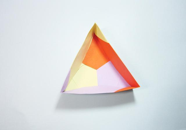 手工折纸最简单的小盒子折法详细过程图解╭★肉丁网