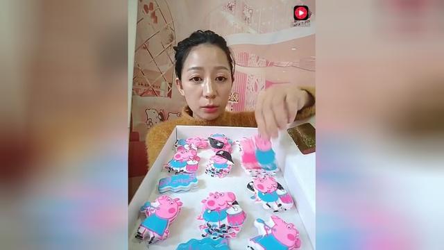 小猪佩奇生日蛋糕图片