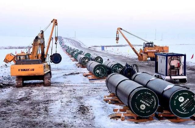 中俄石油管线