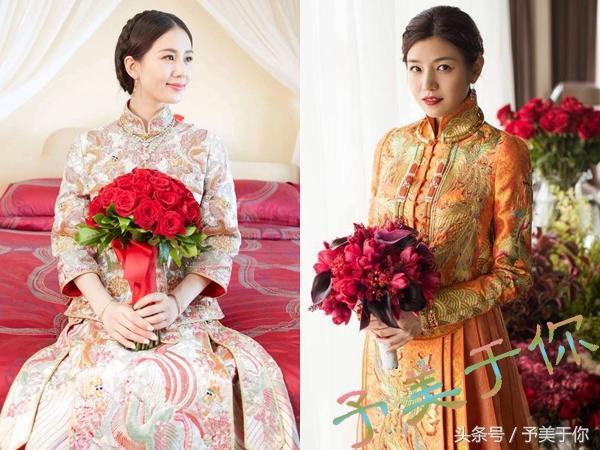 中式大气简洁新娘造型欣赏_黑光网