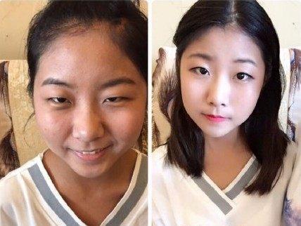 美女戏曲演员化妆百态_新浪图片