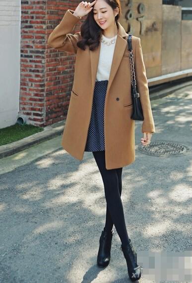 优雅女人养成记,羊毛/绒大衣的穿搭知识点,想要温柔得体全靠它