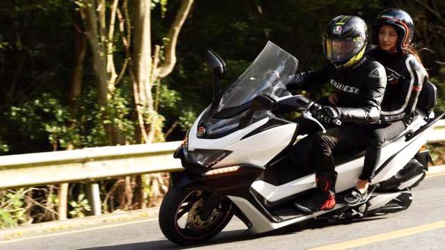 国产中大型踏板车再添一员,辐射卡钳,KYB减震器,23800元起