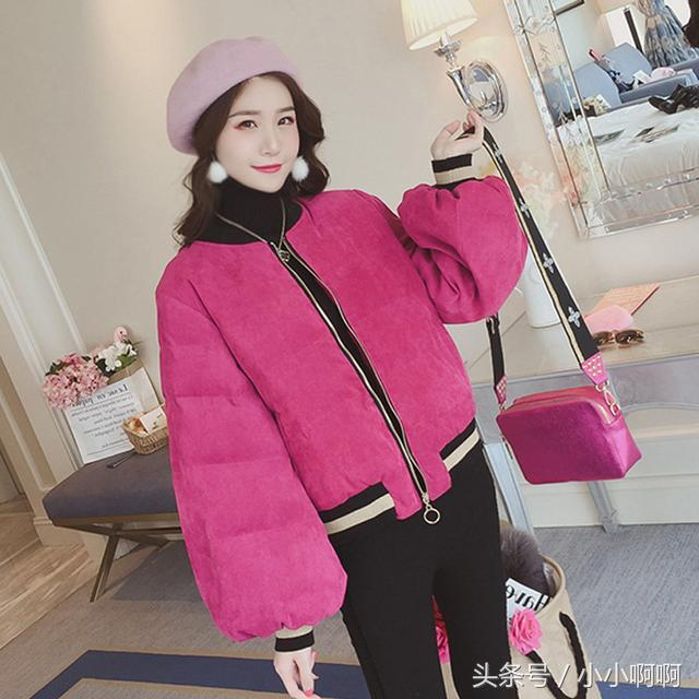 女式棉衣-新款冬季女装短款棉衣 女士韩版修身羽绒棉服... -优酷