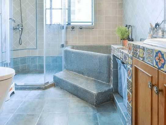 越来越多人这样在卫生间做浴缸,真是好看