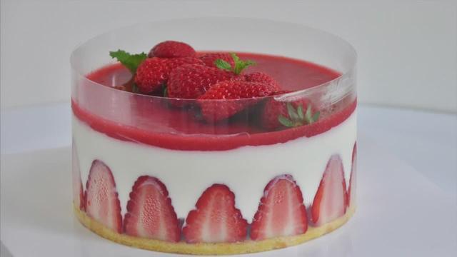 草莓慕斯蛋糕 Freesiaa Made 美味蛋糕無與倫比