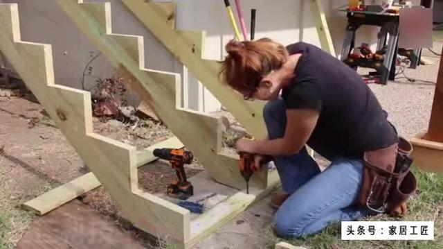 木质楼梯设计