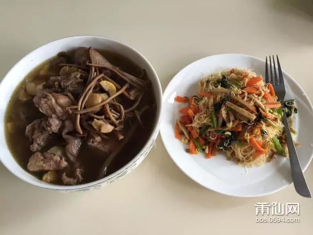 福建莆田特色小吃——兴化米粉