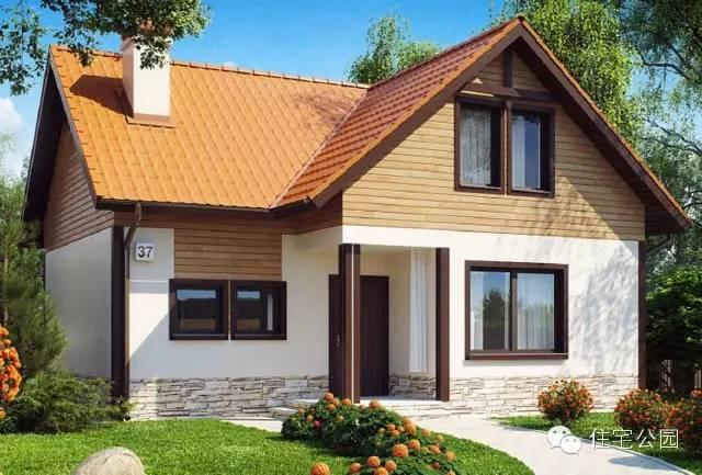「新品」11×10米三层农村小别墅,大露台多卧室,35万就能建