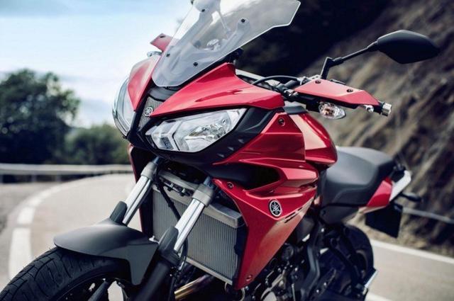 雅马哈发布700cc新款摩托车:Tracer700